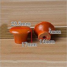 10 pc Wooden Knob Drawer Pulls Cabinet Wardrobe