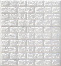 10 Pcs 70x77cm 3D Wallpaper Waterproof Brick Wall