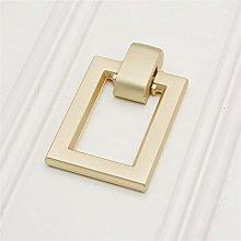 10 PCS Golden copper brushed pull ring antique