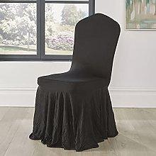 10 Pcs Spandex Skirt Chair Covers Wedding