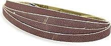 10 Pieces 330 * 10mm Sanding Belts Portable Air
