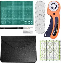 10 pieces fabric knife set, fabric cutter with