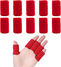 10 Pieces Finger Sleeves Sports Elastic Finger