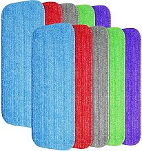 10 Pieces Microfiber Cleaning Pads Reveal Mop Pads