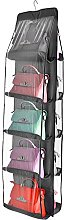 10 Pocket Pouch Hanging Handbag, Organiser Clear
