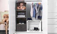 10-Pocket Wardrobe Hanging Organiser