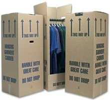 10 Tall Wardrobe Boxes Removal Garment Carriers