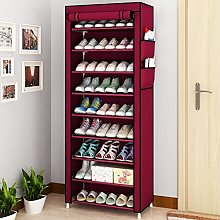 10 Tier Shoe Rack, Detachable Waterproof Shoe