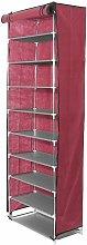 10 Tiers Shoe Rack Wardrobe Closet Shoe Storage