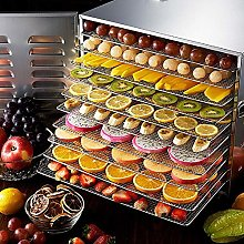 10 Trays Commercial Fruit Dryer Machine, Stainless