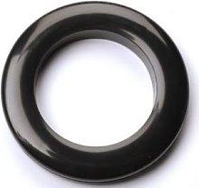 10 x Black Rufflette 36mm Jupiter Eyelet Rings