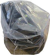 10 x Large Strong Heavy Duty Plastic Polythene 3
