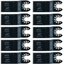 10 x Oscillating HCS 34mm x 40mm Plunge Precision