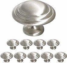 10 X Probrico 33mm Round Mushroom Shape Kitchen