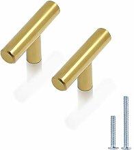 10 X Probrico Gold Stainless Steel Kitchen Cabinet