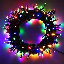 100-1000 LED String Fairy Lights On Dark Green