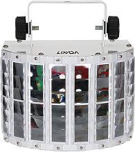 100-240V 24W RGBW LED 7 Channel Dmx 512