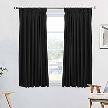 100% Blackout Thermal Insulating Curtain Set Noise
