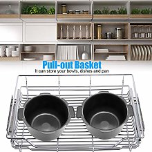 100% Brand New Kitchen Pull-Out Basket Stainless