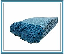 100% Cotton Herringbone Chair - Sofa - Settee -
