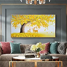 100%Hand-Painted Contemporary Art Oil Painting On