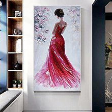 100% Hand-Painted Contemporary Art Oil Painting On