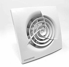 100 mm Bathroom Extractor Fan with Timer and