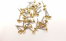 100 Small 6mm Upholstery Nails Furniture Studs
