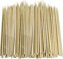 100 x Bamboo Skewers For Grill BBQ Kebab Fruit