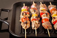 100 x Skewers in Wooden Bamboo Sticks for BBQ
