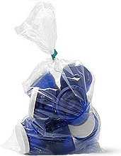 1000 Large Clear Polythene Plastic Storage Bags
