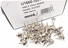 1000 Nickel chrome plated upholstery nails GENUINE