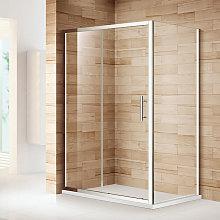 1000 x 800 mm Sliding Shower Enclosure Safety