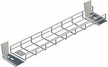 1000mm (100cm) Long Premier Under Desk Basket Tray