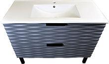 1000mm Bathroom Vanity Unit Floor Standing 2