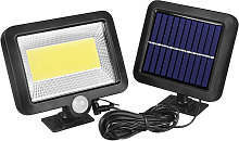 100COB Solar Energy Wall Mounted Night Lamp Motion