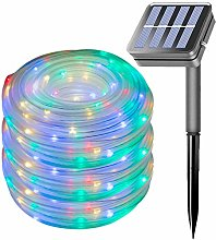 100LED Rope Lights Outdoor,EHOFUN Waterproof 39FT
