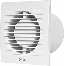 "100mm / 4"" Quiet Silent Square Extractor Fan -"