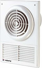 100mm Extractor Fan with Ventilation Grille