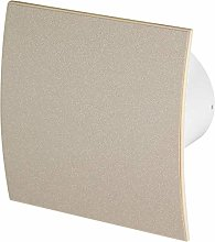 100mm Timer Extractor Fan Beige Structure Front