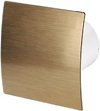 100mm Timer Extractor Fan Gold ABS Front Panel