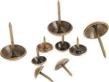100Pcs Antique Bronze Iron Upholstery Nail Jewelry
