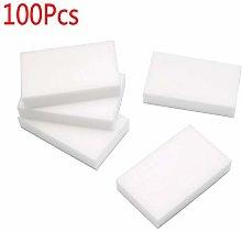 100PCS Cleaning Magic Sponge Eraser Melamine