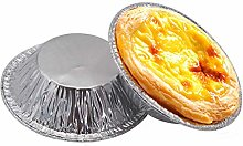 100pcs Cookie Muffin Egg Tart Fresh Disposable