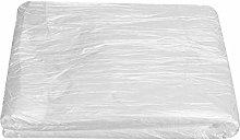 100pcs Disposable Tablecloths,Transparent Plastic