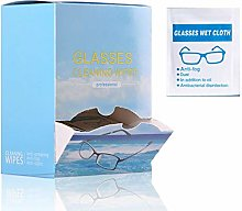 100Pcs Lens Cleaning Wipes Pre-Moistened