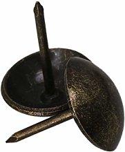 100PCS Upholstery Nails Decorative Tacks Bronze