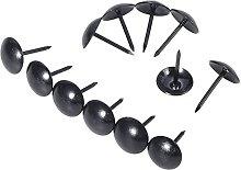 100Pcs Upholstery Nails Jewelry Case Box Drum Sofa