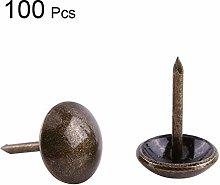 100pcs Vintage Upholstery Nails, Furniture Nails