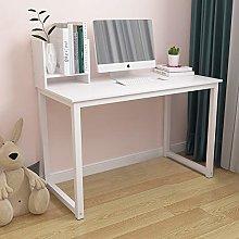 105cm Home Office Desk with Shelf, Laptop PC Desk